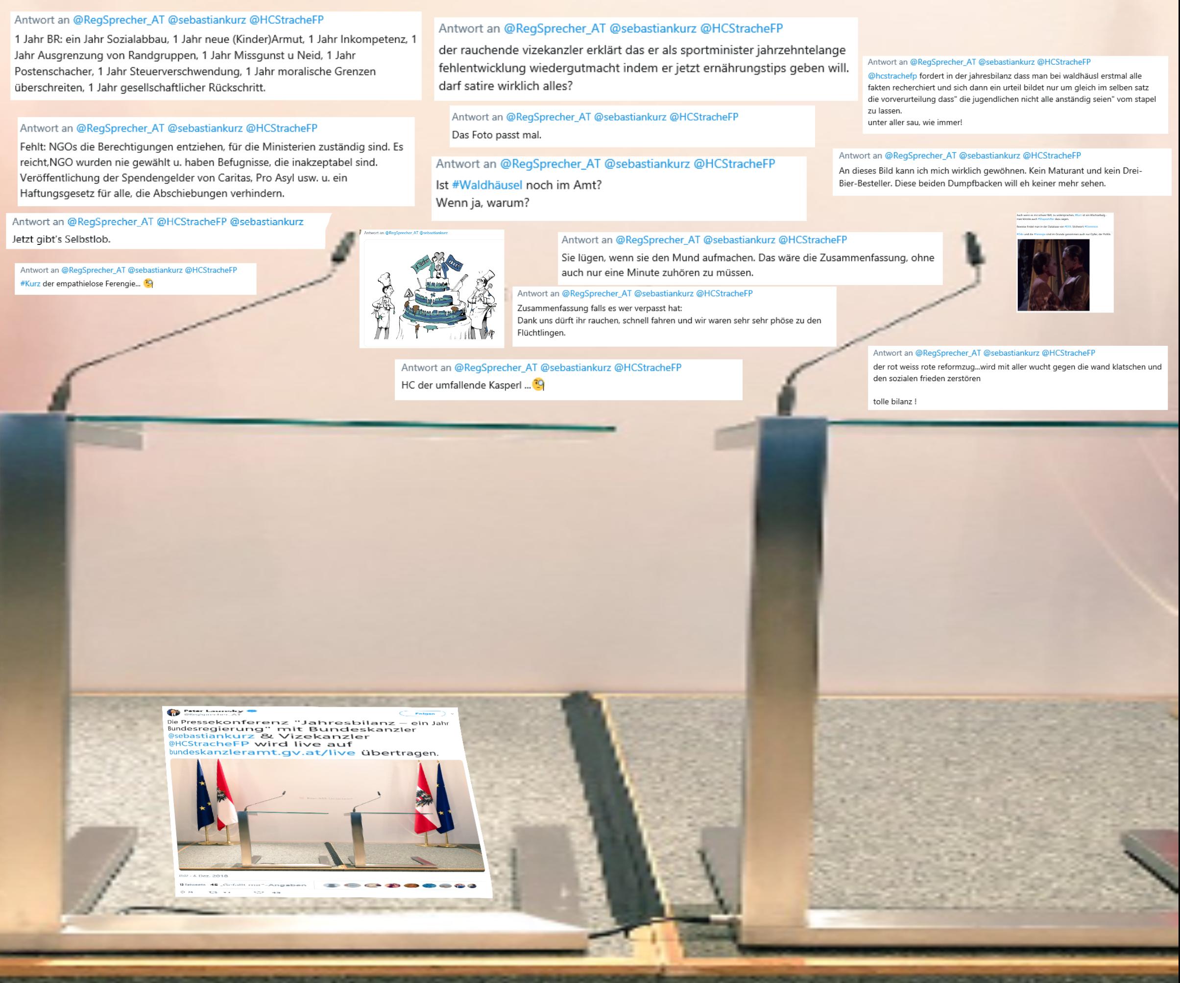 Die Pressekonferenz Jahresbilanz – ein Jahr Bundesregierung mit Bundeskanzler sebastiankurz Vizekanzler HCStracheFP wird live auf bundeskanzleramtgvat live übertragen